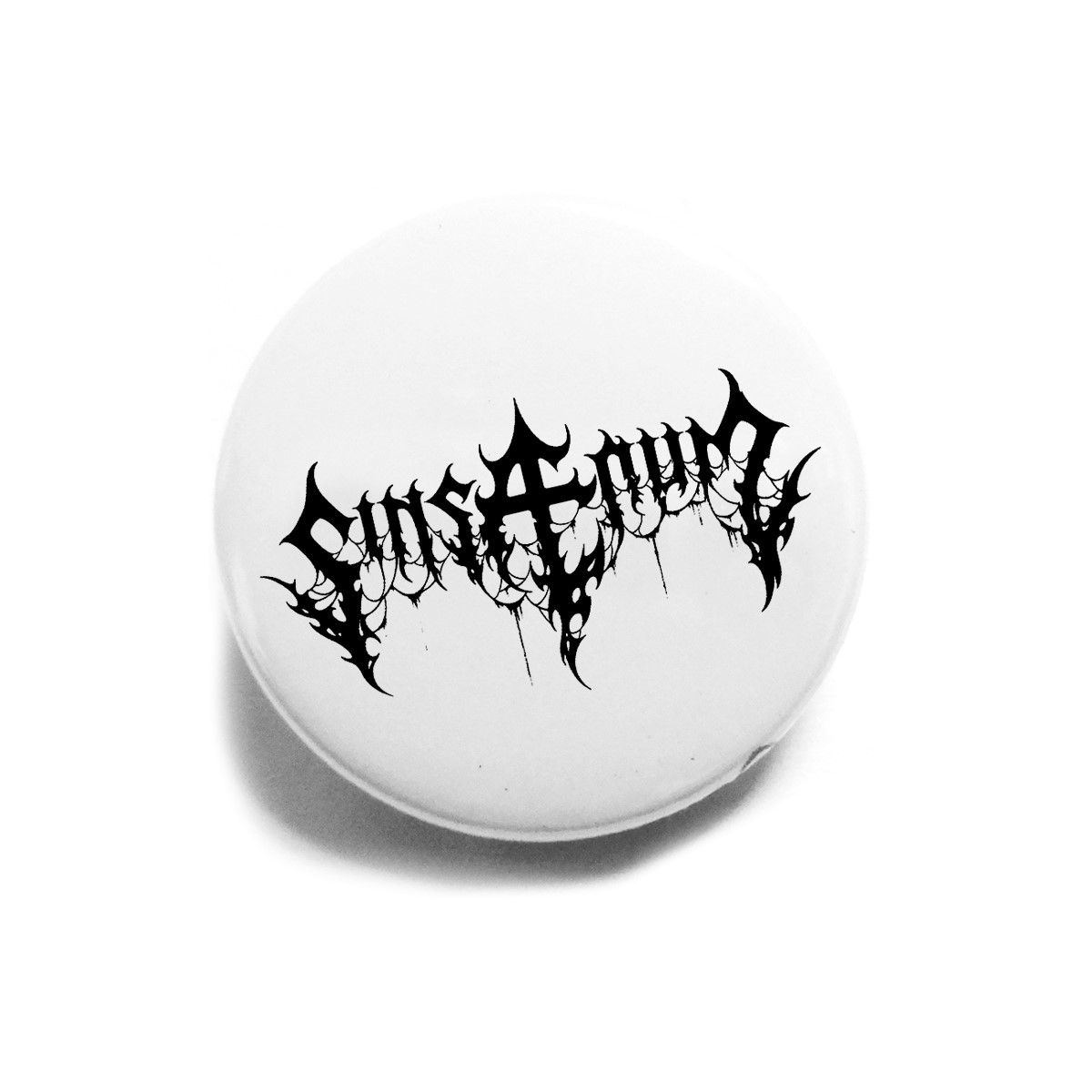 Black Logo – Button Badge - Sinsaenum