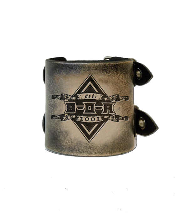 "BOA Leather ""Card"" Wristband - Bloodstock"