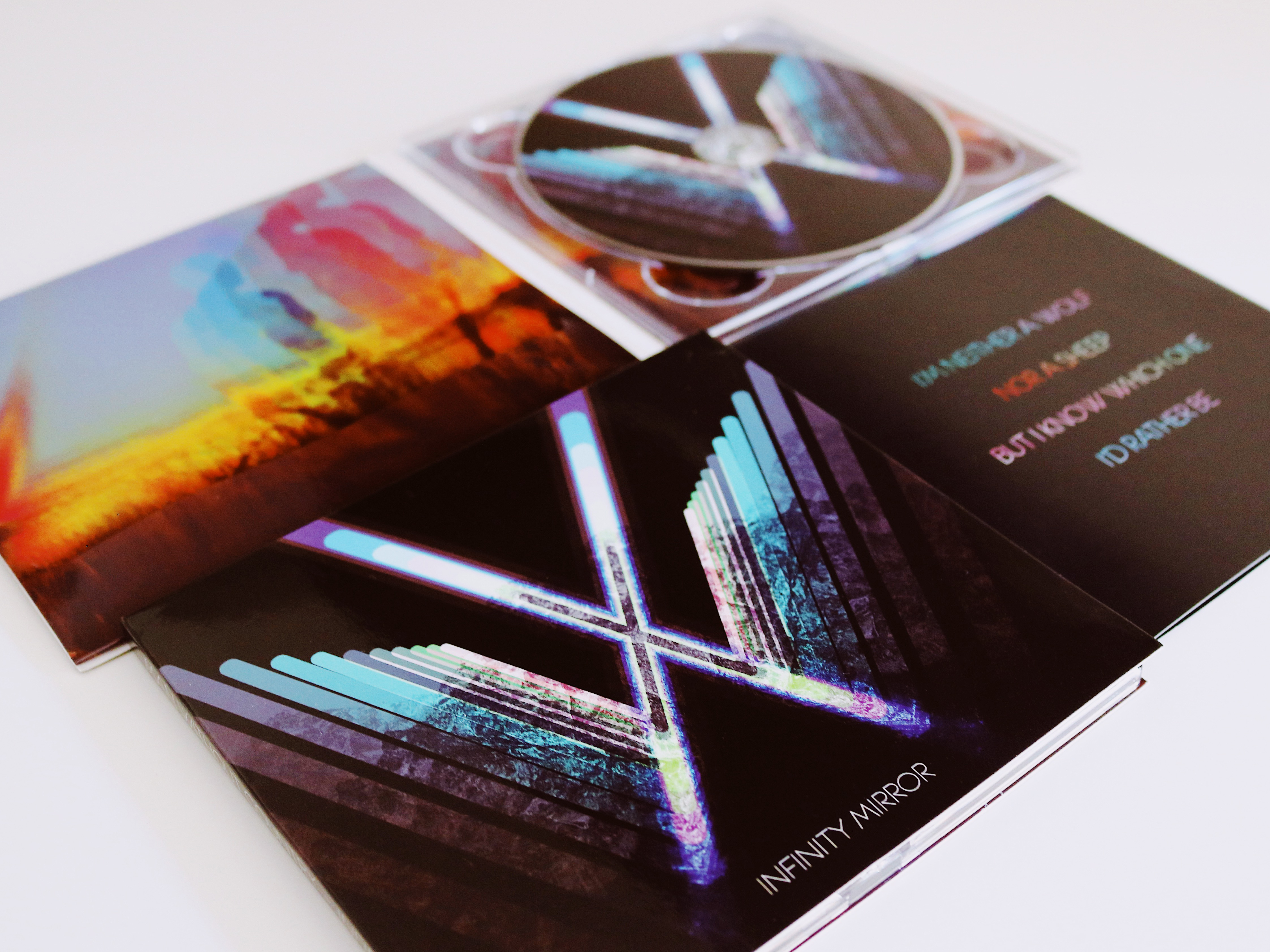 Infinity Mirror - Deluxe Digipak CD - Man Without Country