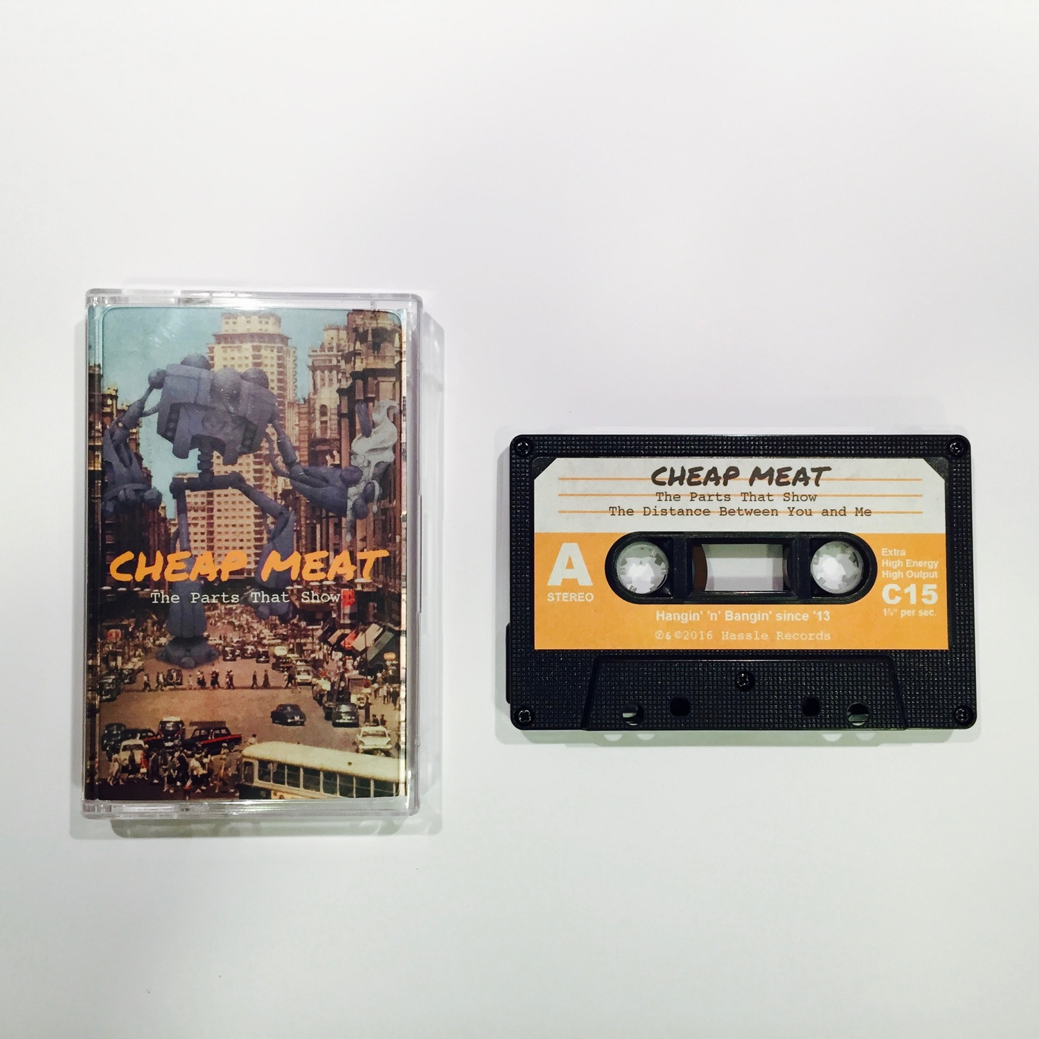 The Parts That Show EP - Cassette (Limited to 50) - Cheap Meat