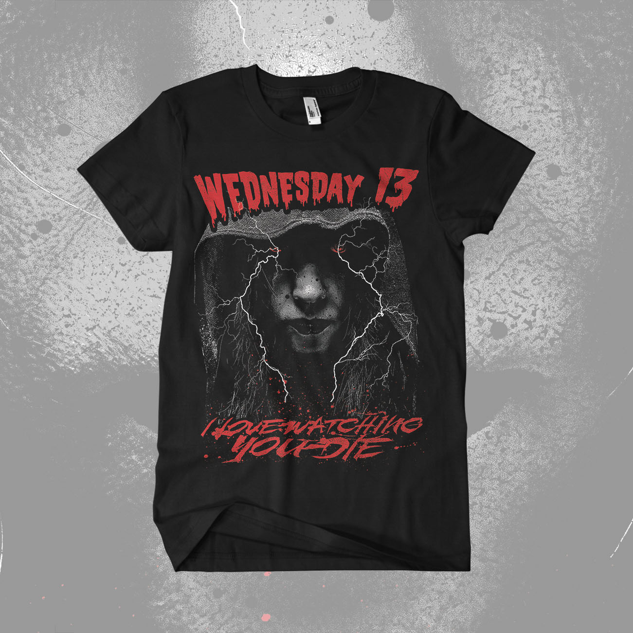 Wednesday 13 - 'I Love Watching You Die' T-Shirt - Wednesday13