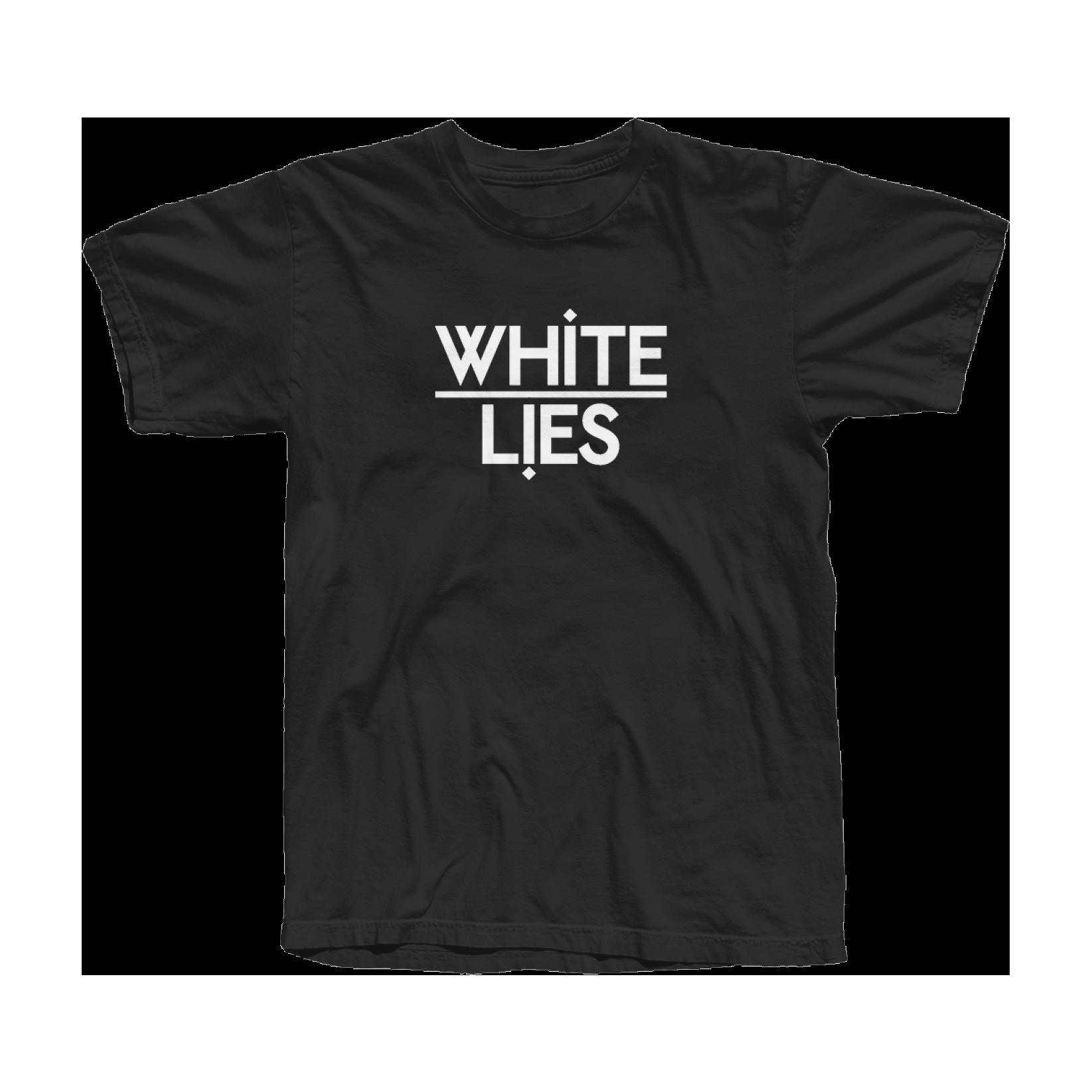 Ladies Classic Logo T-shirt - Black - White Lies