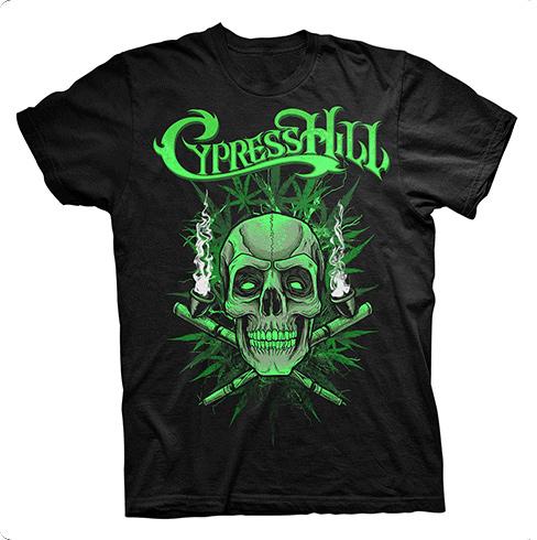 Skull N Pipes - Tee - Cypress Hill