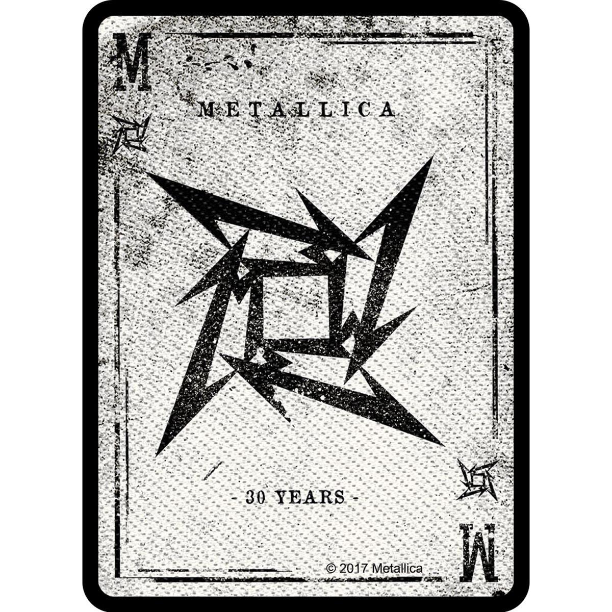 Dealer – Woven Patch - Metallica