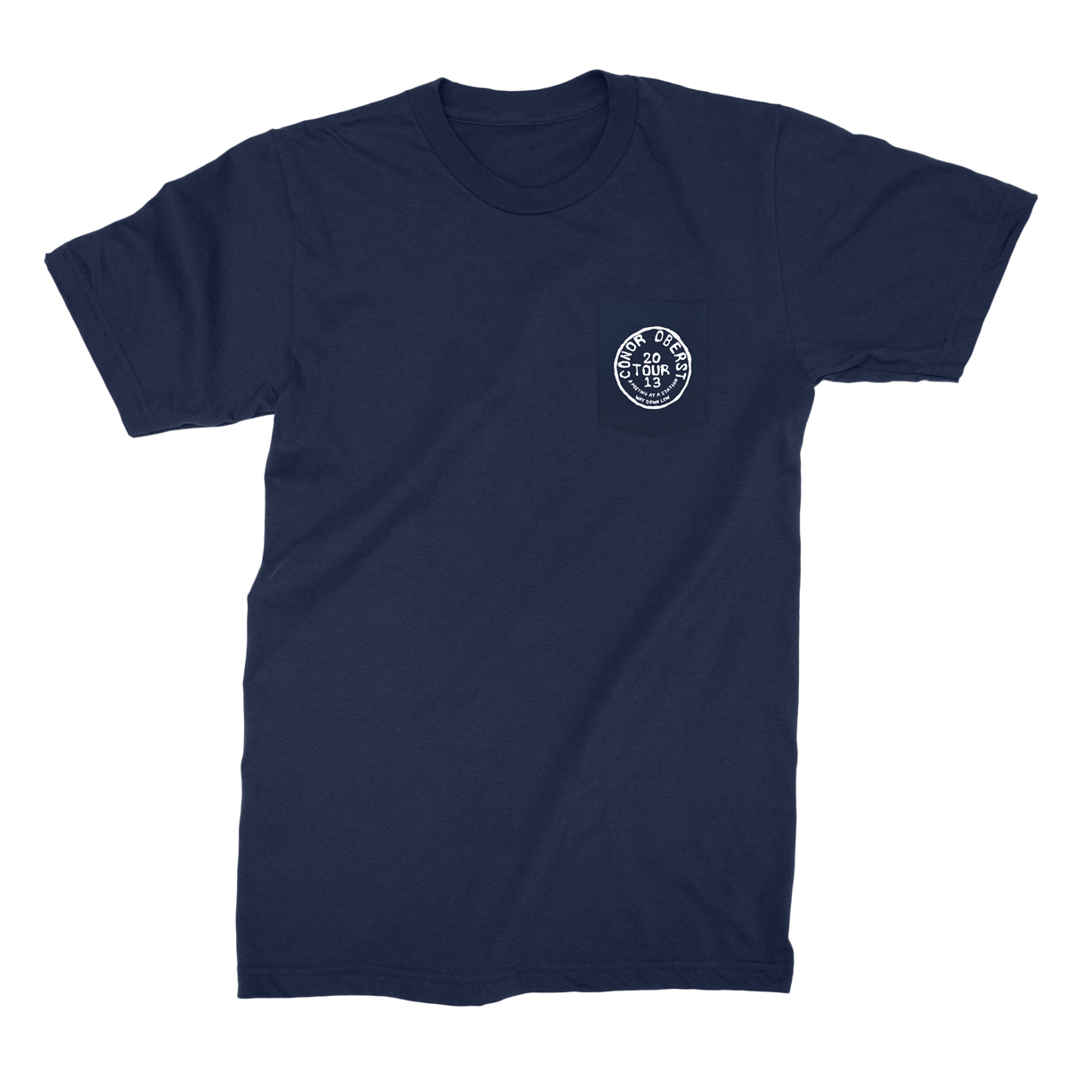 2013 European Tour Stamp Pocket Tee - Conor Oberst