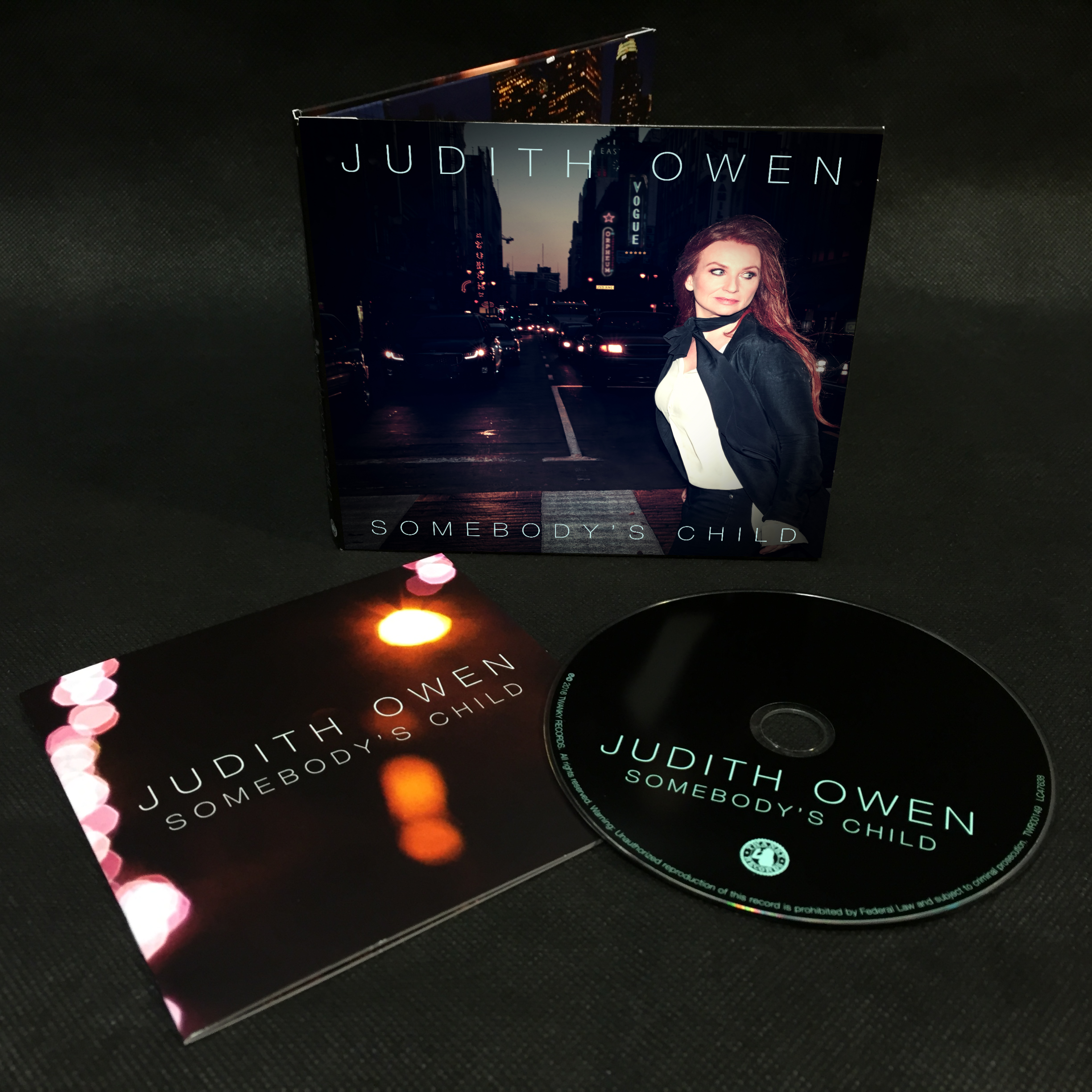 Somebody's Child (Limited Signed CD) - Judith Owen