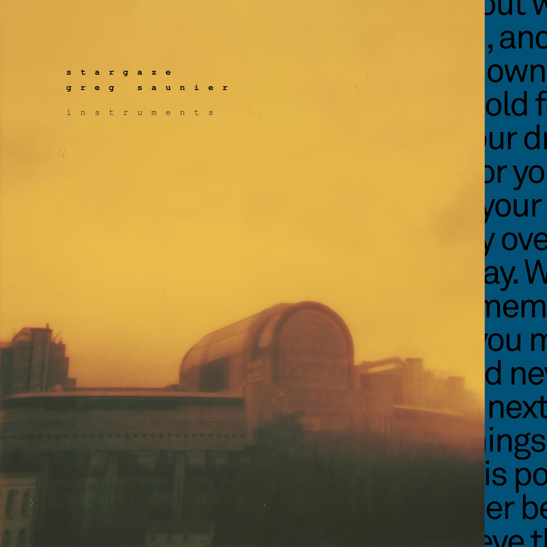 s t a r g a z e - Instruments (A Track By Track Re-Composition of Fugazi's 'In On The Killtaker') - s t a r g a z e