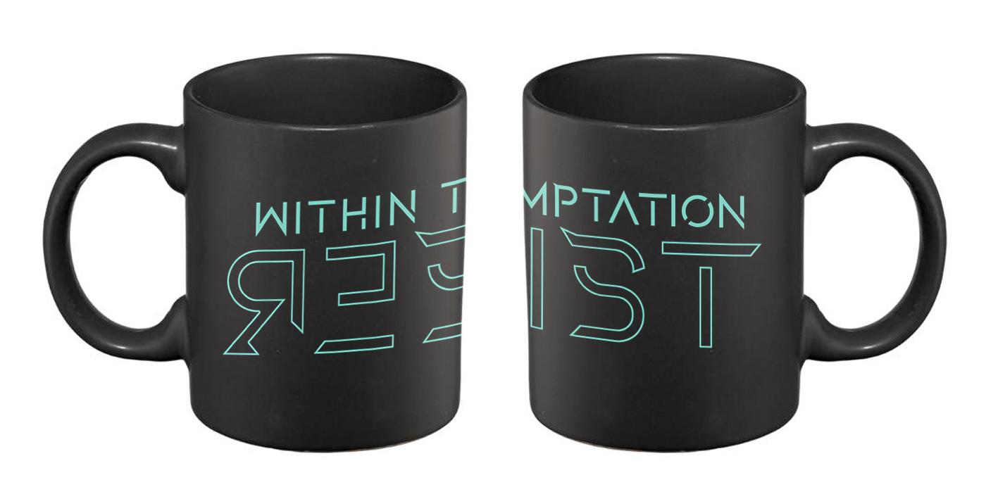 3D Resist – Matte Black Mug - Within Temptation