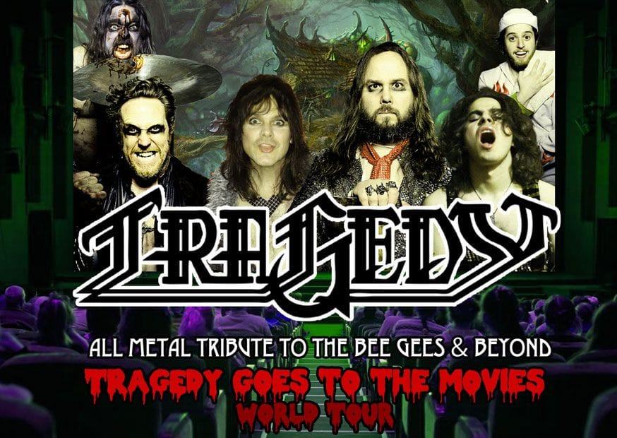 Tragedy All Metal Tribute To The Bee Gees Beyond At Audio Glasgow On 24 Feb 2019