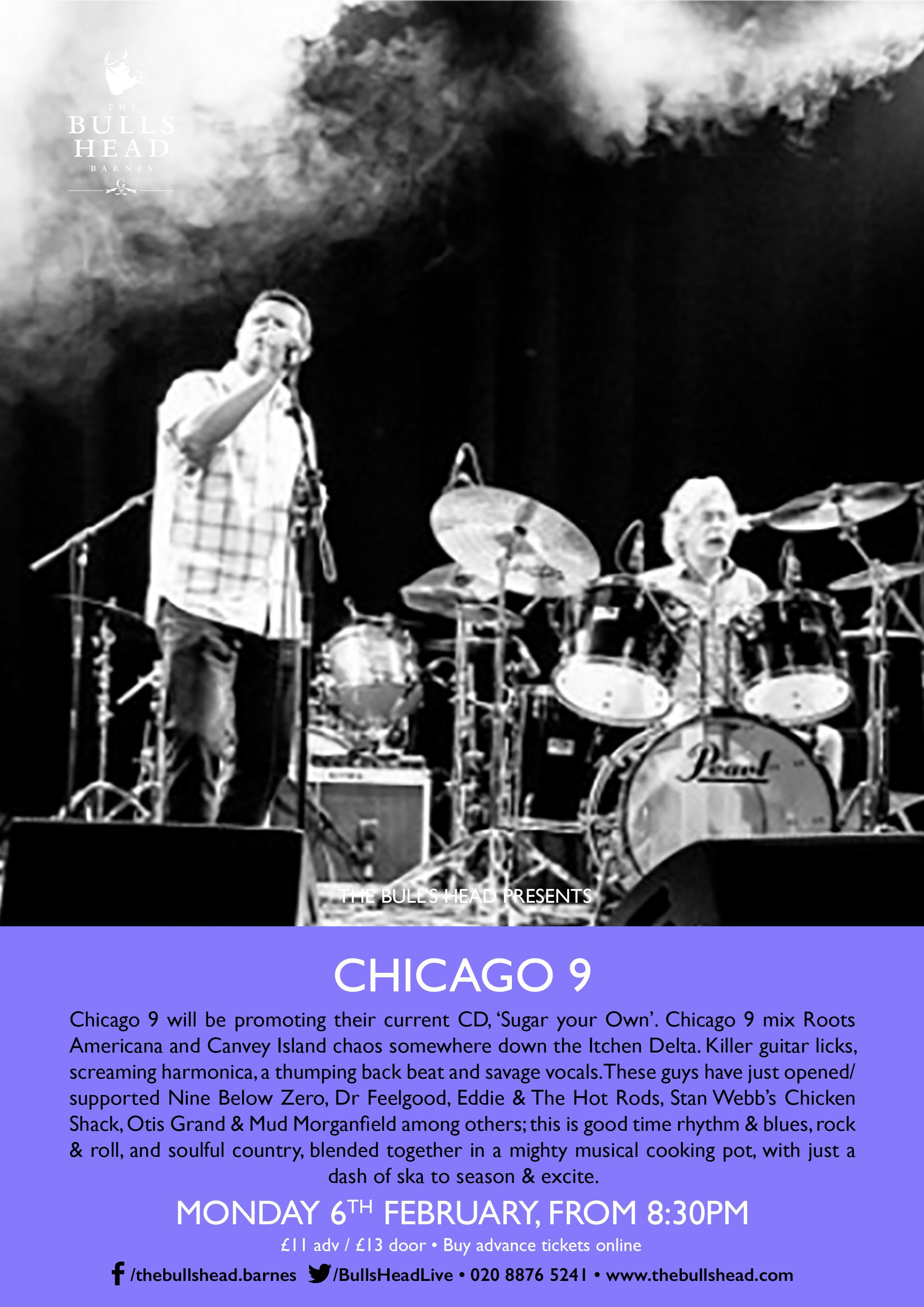 Stormy Monday Club Presents Chicago 9