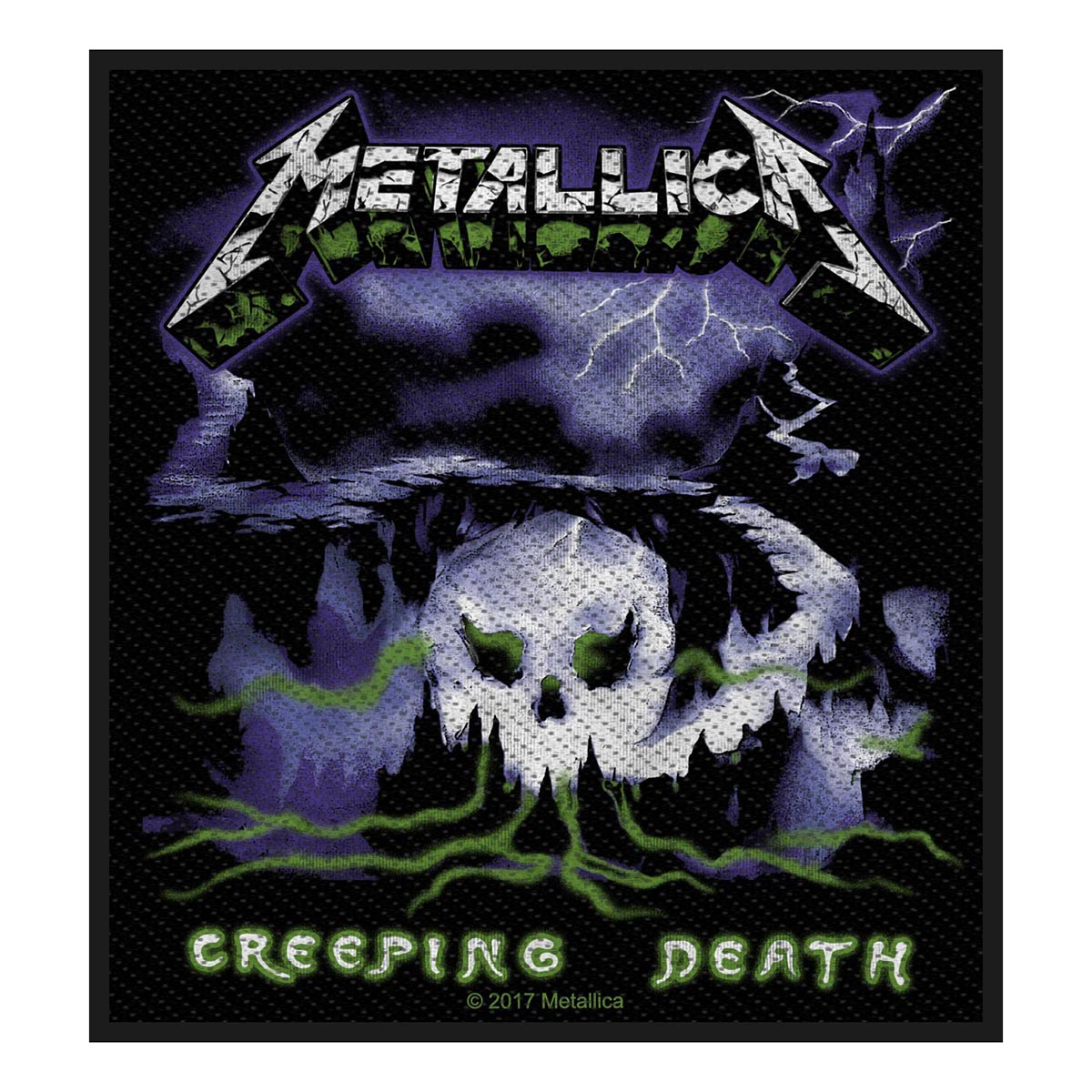 Creeping Death – Woven Patch - Metallica