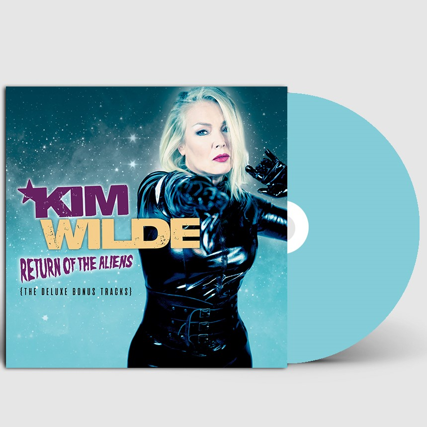 Here Come The Alients (Deluxe Edition) [Signed Sleeve] - Kim Wilde