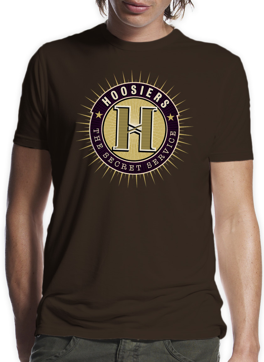 Secret Service Badge T-Shirt - The Hoosiers