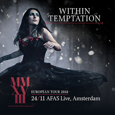 Within Temptation at AFAS Live, Amsterdam on 24 Nov 2018