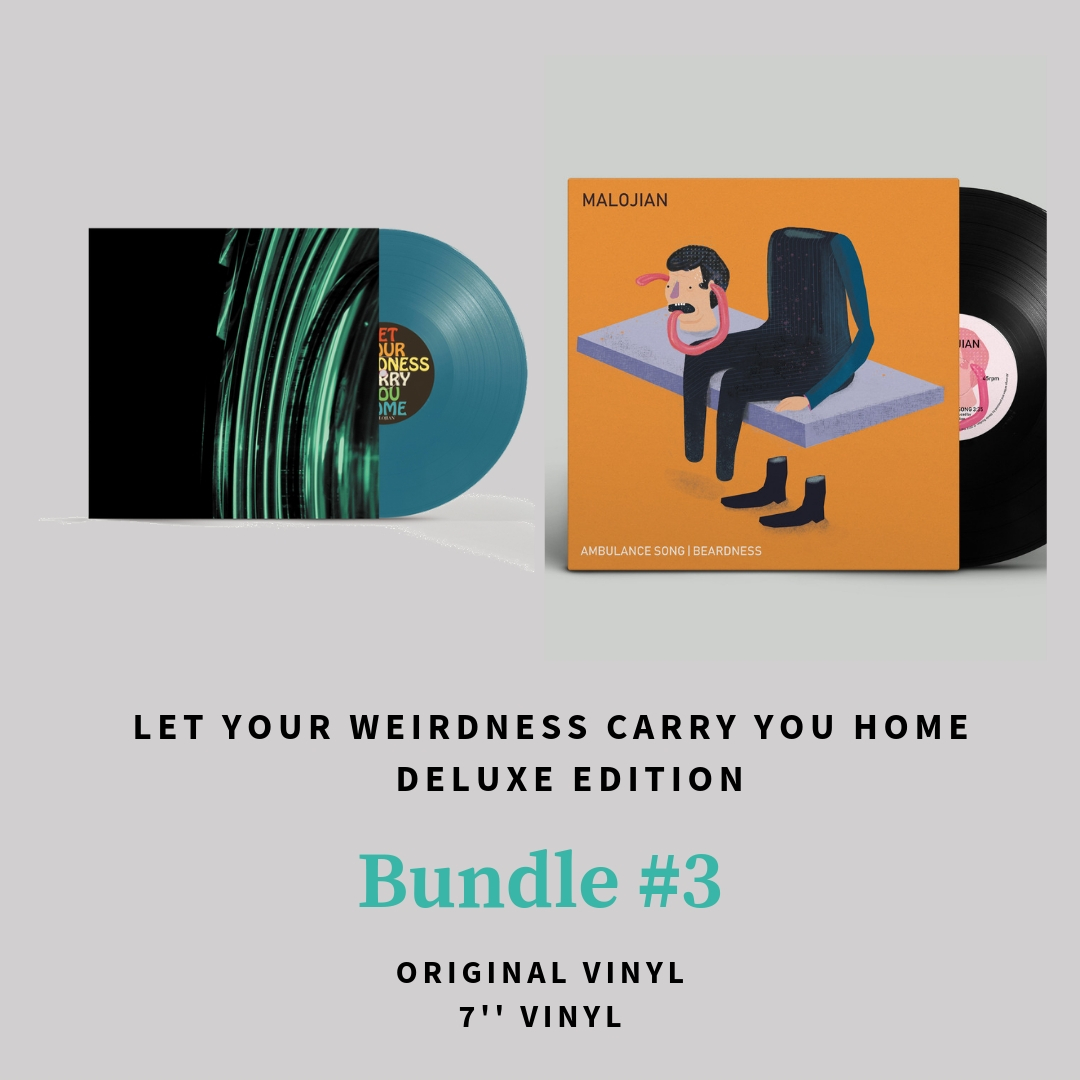 Let Your Weirdness Carry You Home (Deluxe Edition) BUNDLE #3 - Quiet Arch