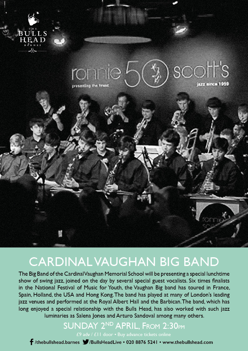 Cardinal Vaughan Big Band Play The Lunchtime Session