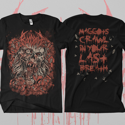 Bloodbath - Wretched Human Mirror T-Shirt - Bloodbath