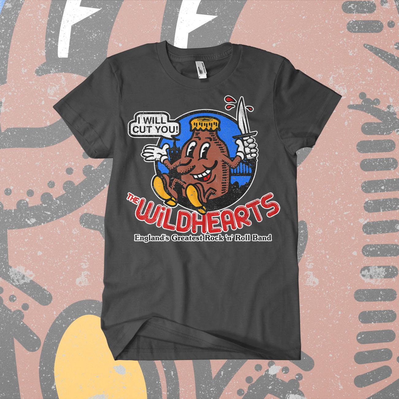 The Wildhearts - 'Howdy' T-Shirt - The Wildhearts