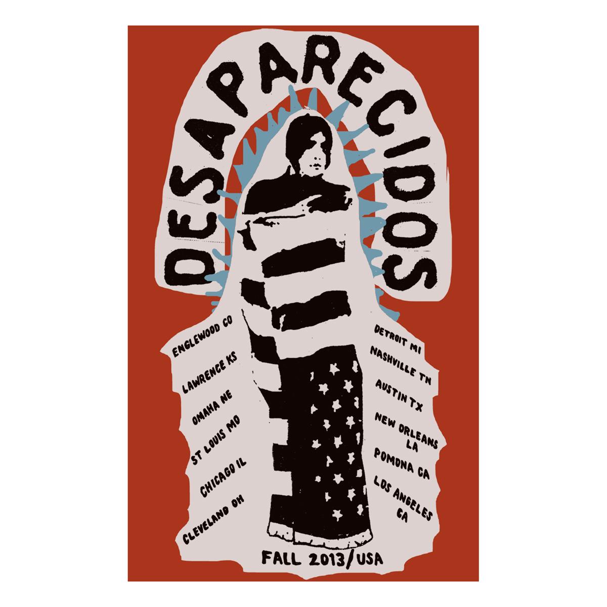 Flag Tour Poster - Desaparecidos