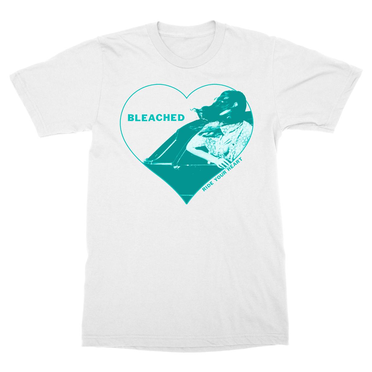 White Heart Tee - Bleached