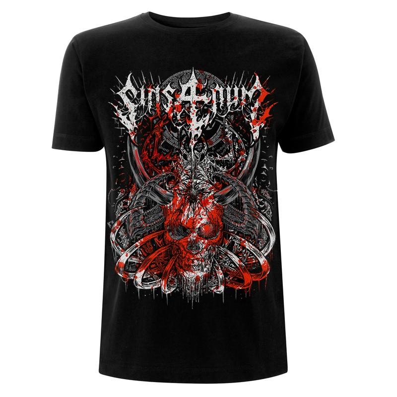 Blood Skull – Tee - Sinsaenum