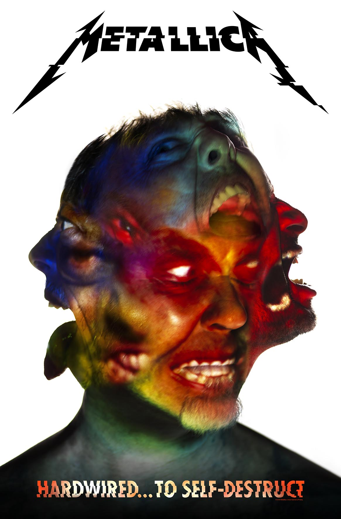 Hardwired Album Cover – Textile Flag - Metallica