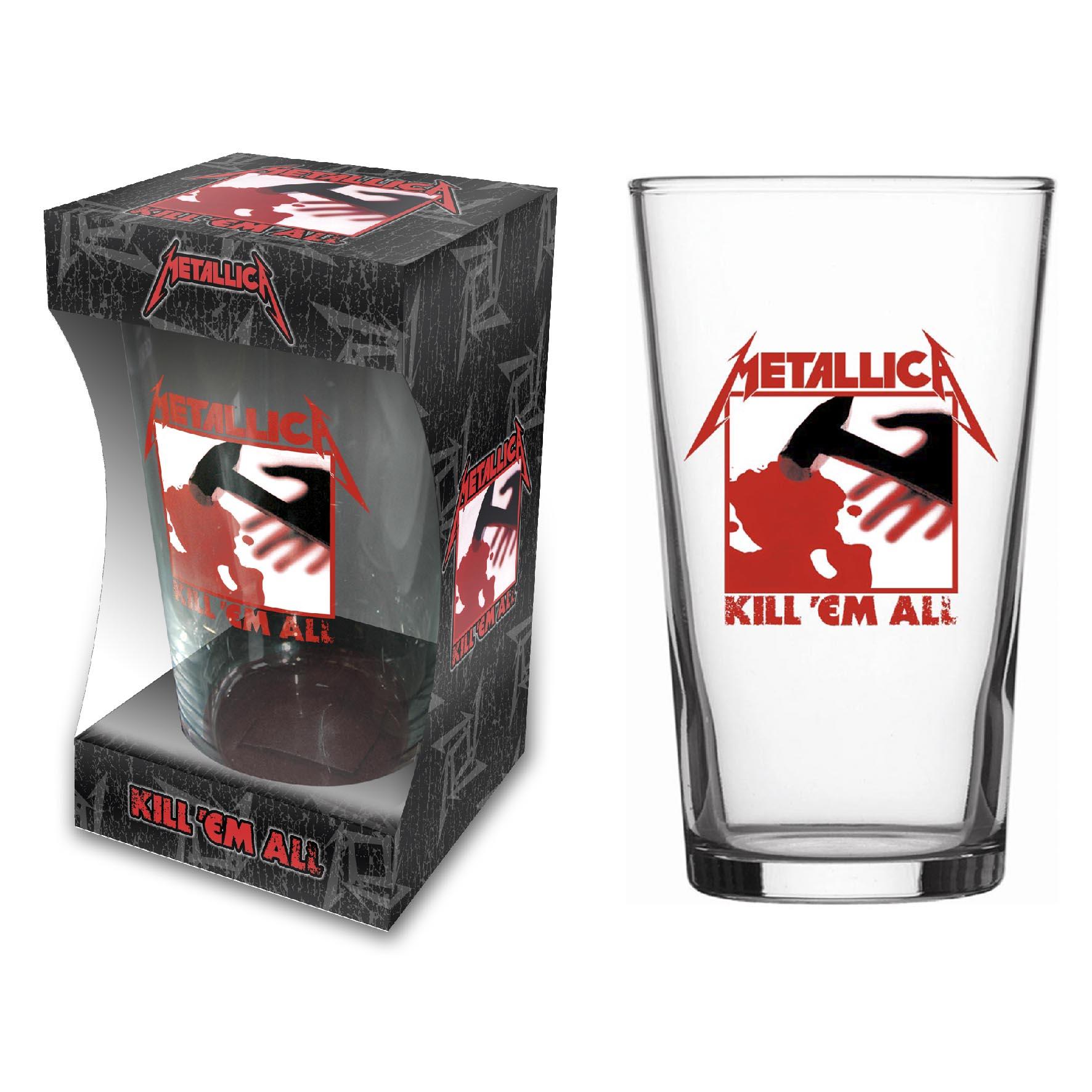 Kill Em All – Pint Glass - Metallica