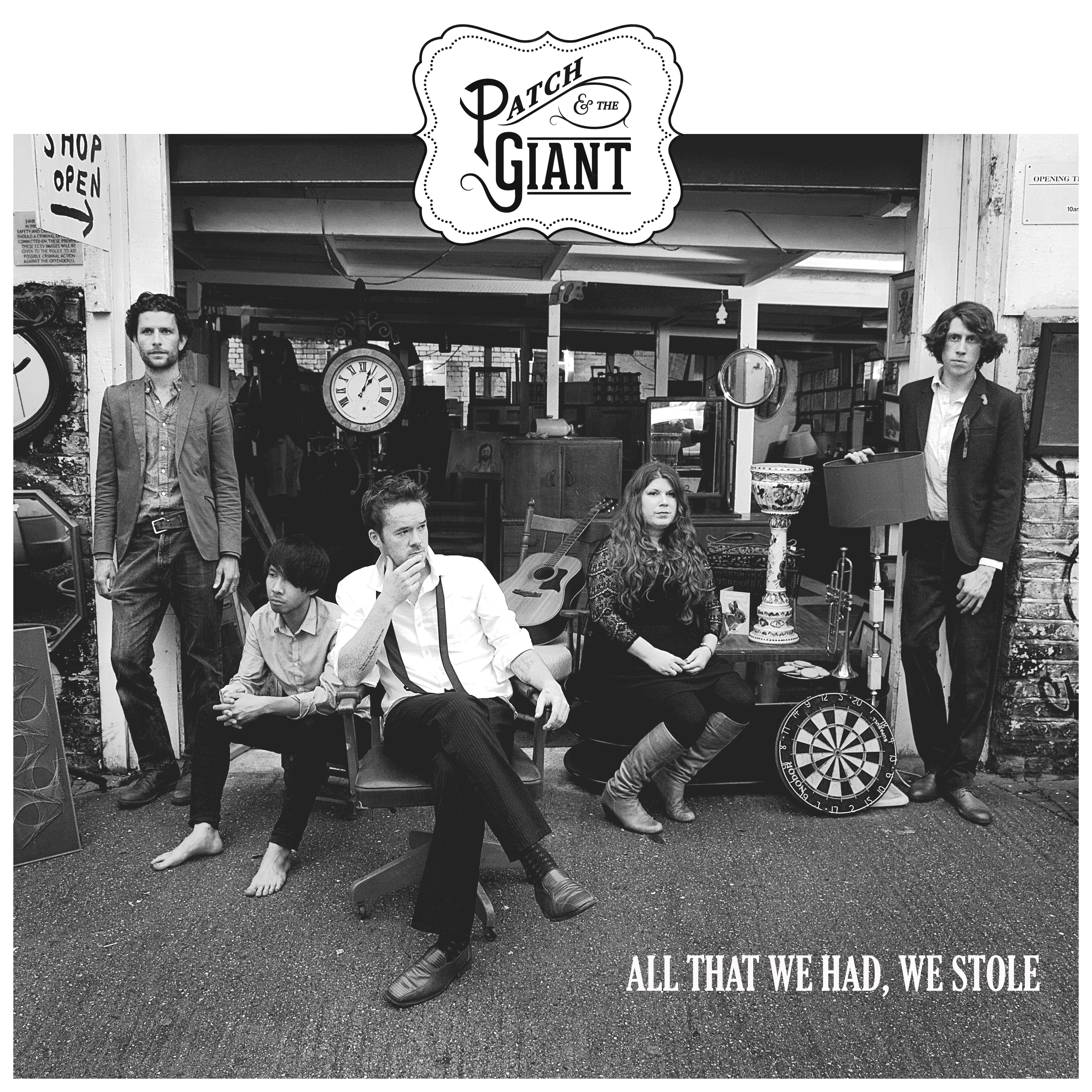All That We Had, We Stole (Limited Edition Signed CD) - Patch and the Giant