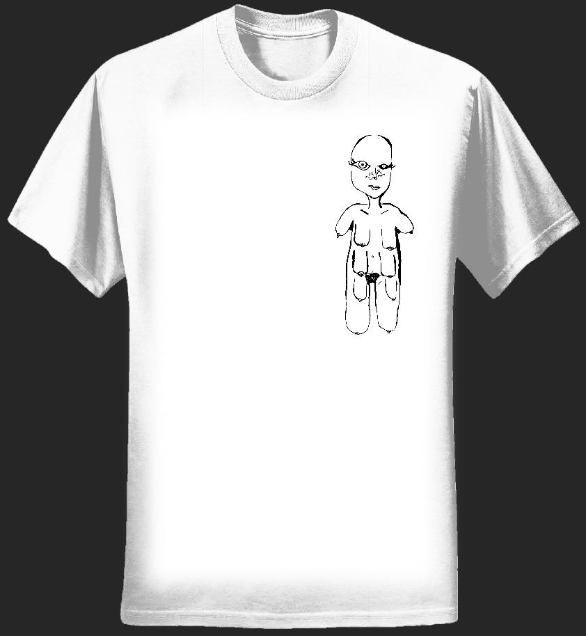 FVRboob WHITE T-shirt - FVRmind