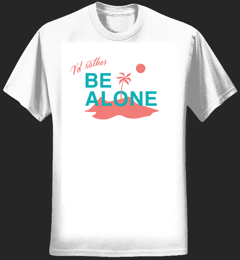 Be Alone T-Shirt - Dan Croll