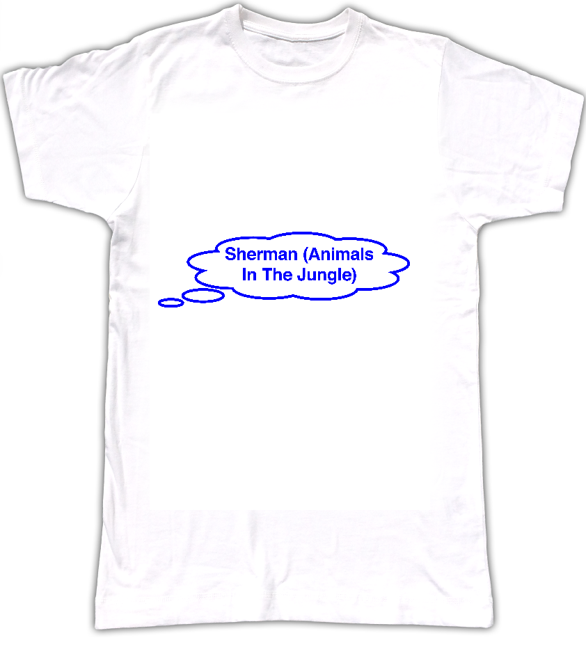 Sherman (Animals In The Jungle) T-shirt - Tom Vek