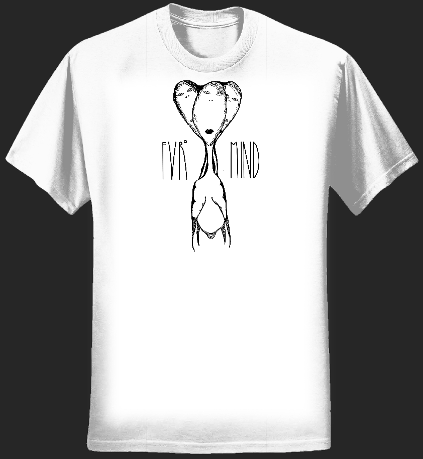 FVRheadz WHITE T-shirt - FVRmind